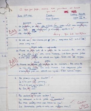 bad exam