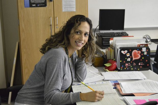 teacher working